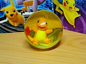 c1999 Vintage Charmander POKEMON Bouncy Ball TOMY Original Vintage Toy
