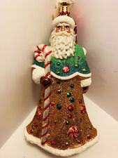 Christopher Radko Ornament Candy Tree Santa , 1017239, Great Details