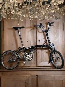 Brompton Titanium M3L Folding Bike superlight Woldwide Shipping