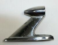 "Car Part Hood Trim Mold M1231 Chrome Auto Rat 5 3/4"" Long minor pitting"