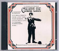 LA MUSICA DI CHARLIE CHAPLIN FRANCIS SHAW  CD F.C
