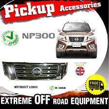 Front Grille Grille Chrome Nissan Navara NP300 Pickup 16-17 OEM 2.5TD/3.0TD -M63