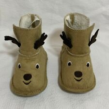 Christmas Reindeer Toddler Boots Size 4