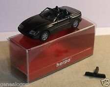 MICRO HERPA HO 1/87 BMW Z1 GRIS FONCE IN  BOX