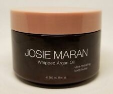 JOSIE MARAN WHIPPED ARGAN OIL HYDRATING BODY BUTTER PEPPERMINT BARK 19 OZ READ!