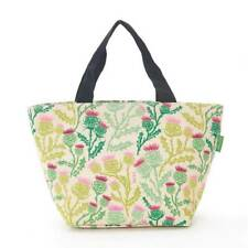 Eco Chic - Beige Thistle Print - Insulated Cool Lunch Bag