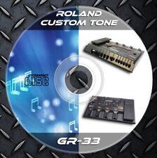 259 Patches Roland GR-33 Multi Effects Processor. Custom Tone Preset.