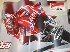 Casey Stoner (Australia) signed limited edition Moto GP Print (unframed) + COA