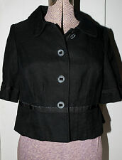 The Limited Black Blazer Jacket Lined Size Large Best Fits 6 / 8 Casual Career