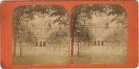 Vichy Stabilimento Foto Stereo Vintage Albumina Ca 1870