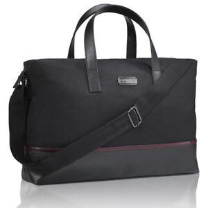 Mens Aramis Black Duffle Zip Bag Weekend Away W 50cm x L28 x D9cm