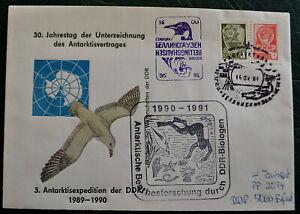 Russland DDR Deutschland Antarctica Antarctic Antarktis Polarpost Polar Polaire