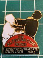 Star Trek Original Series 27th Episode The Alternative Factor Metal Pin 1991 NEW
