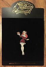 Disney Auctions Santa Costume Jessica Rabbit Christmas Present Gift LE Pin NEW