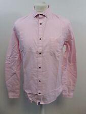 Mens Superdry Director Oxford Shirt Pink/ White Stripe Large RRP £75 box57 30 H