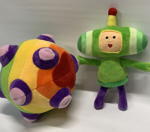 New Official Katamari Damacy REROLL The Prince and Ball Exclusive Magnetic Plush