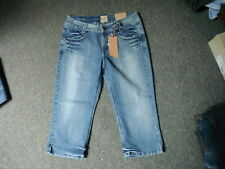 "B Young Atlanta Joy Jeans Waist 32"" Leg 19"" Faded Medium Blue Ladies Jeans."