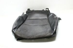 2009-2014 ACURA TSX SEDAN FRONT DRIVER LEFT SEAT LOWER SEAT COVER BLACK P5672