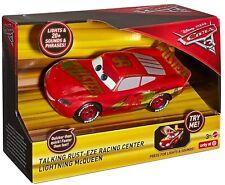 Disney Cars 3 Talking Rust-eze Racing Center Lightning McQueen Car Light & Sound