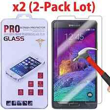 2-Pack Premium Real Tempered Glass Screen Protector for SAMSUNG Galaxy Note 4