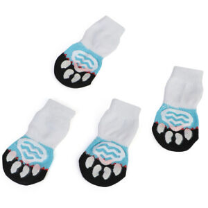 Pet Dog Anti-Slip Shoes Breathable Boots Grip Socks Paw Protective Booties Sock