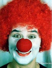 50 clown nez rouge mousse Carnaval Cirque Costume Party Favor #ST50 livraison gratuite