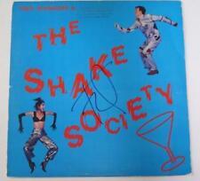 """Fred Schneider B-52's Signed Autograph """"Fred Schneider's Shake Society"""" Album LP"""