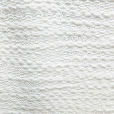Ivory Loopback Knitted Jersey Fabric - Textured boucle yarns - Sold by the metre