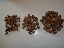 "Teak Plugs--Tri-Pack--25 each 1/2"", 3/8"", 1/4""  All Tapered"