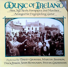MUSIC OF IRELAND - AIRS, JIGS, REELS, HORNPIPES, & MARCHES - SHANACHIE LP - 1988
