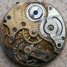Agassiz High Grade Quality pocket watch movement & dial 36 mm. to restore