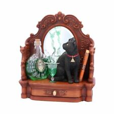 More details for nemesis now lisa parker absinthe cat and green fairy figurine 21.5cm