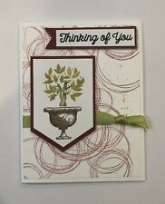Card Kit Set Of 4 Stampin Up THINKING OF YOU, Beauty & Joy, Tree