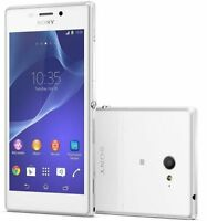 "Unlocked New Original Sony Xperia M2 D2303 8GB 4.8"" 8MP GPS Smartphone White"