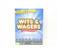 Wits and Wagers Family Edition Party Game - New Sealed NSG-150