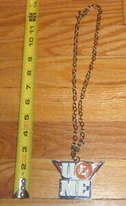 2010 WWF WWE John Cena U can't see me logo Necklace Pendant Wrestling