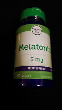 Mélatonine 5 mg / 60 Comprimés - Date d'Exp: 2021 - Neuf ( Vendu en France )