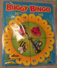 Toddler 4-6 Years Buggy Bingo Number Game Kids Bugs Learning Activity Boy Girl