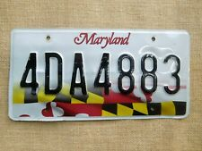 American number plate licence plate license Maryland vintage man cave USA old 2