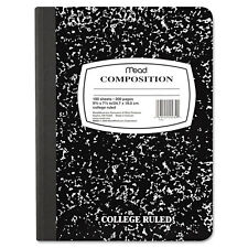 Mead Square Deal Composition Book, Legal Rule, 9 3/4 X 7 1/2, White, 100 Sheets