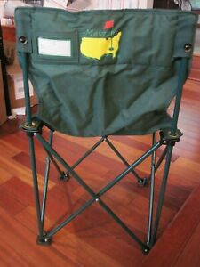 MASTERS Tournament Folding Chair Carry Bag Tag AUGUSTA Golf Green