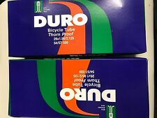 TWO 26x1.95/2.125 Duro Thorn Resistant Bike Thick Inner Tube Schrader HeavyDuty