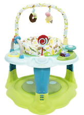 iSafe 2 in 1 Activity Centre Entertainer with 360° Rotating Seat & Play Table Fu
