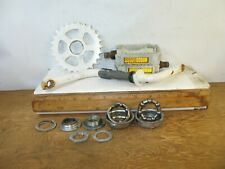 """Steel Bike Crank with Components & Pedals from a 14"""" Kent 24 Karat Bicycle"""