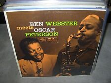 BEN WEBSTER & OSCAR PETERSON meets ( jazz )