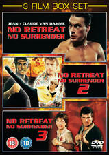 No Retreat, No Surrender 1-3 (Box Set) [DVD]