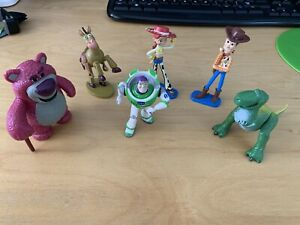 7PCS Disney Pixar Toy Story Figures, Buzz, Woody, Rex, Jessie,