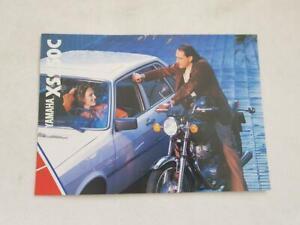 YAMAHA XS250C Motorcycle Sales Brochure c1981 #0107547-81BK