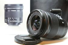 ** Never Used** Canon EF-S 10-18mm F/4.5-5.6 IS STM Lens (9519B002) - Never used