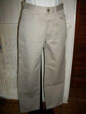 Pantalon droit coton beige DOCKERS KHAKIS W29 L32 ou 38FR 13PA5